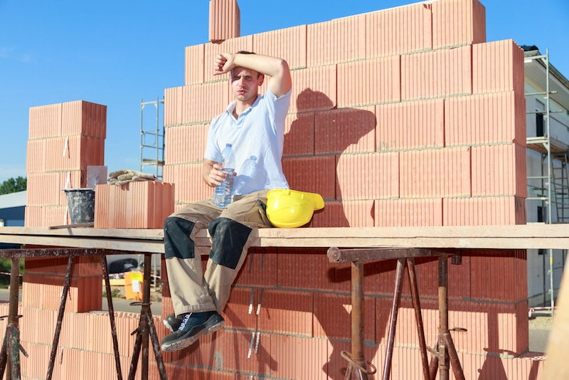 Keep Your Roofing Crew Safe From Heat Illness